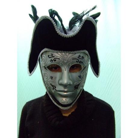 masque-cavalier-masque-venitien-noir-et-argente